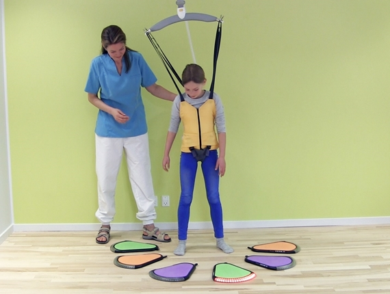Pediatric walking sling for children: Active Vest Kids FR