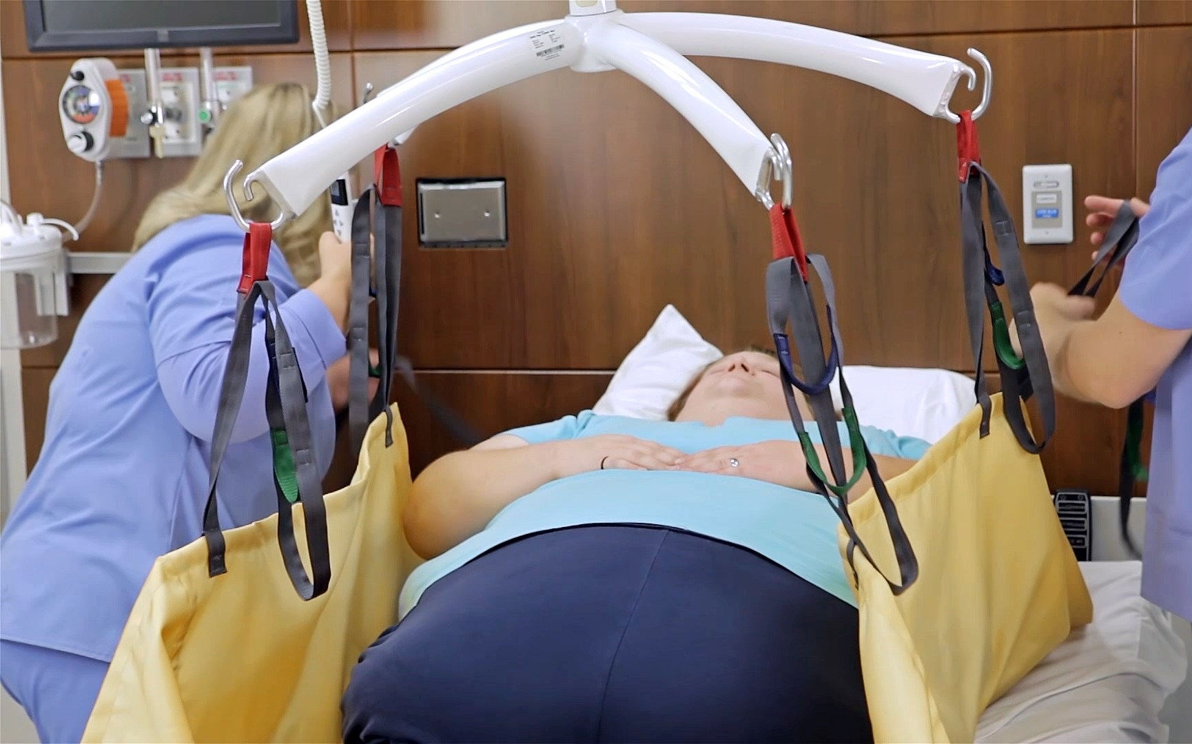 Repositioning Sling for bariatric patients