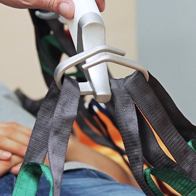 Repositioning sling - moving patient in bed - four hanger points