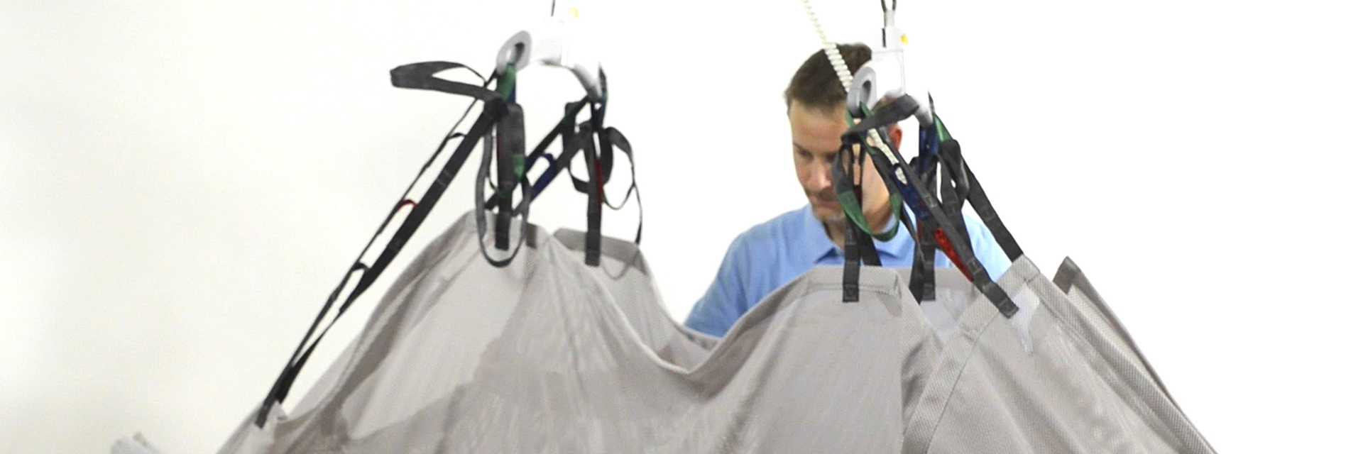 Repositioning sling - with H-hanger
