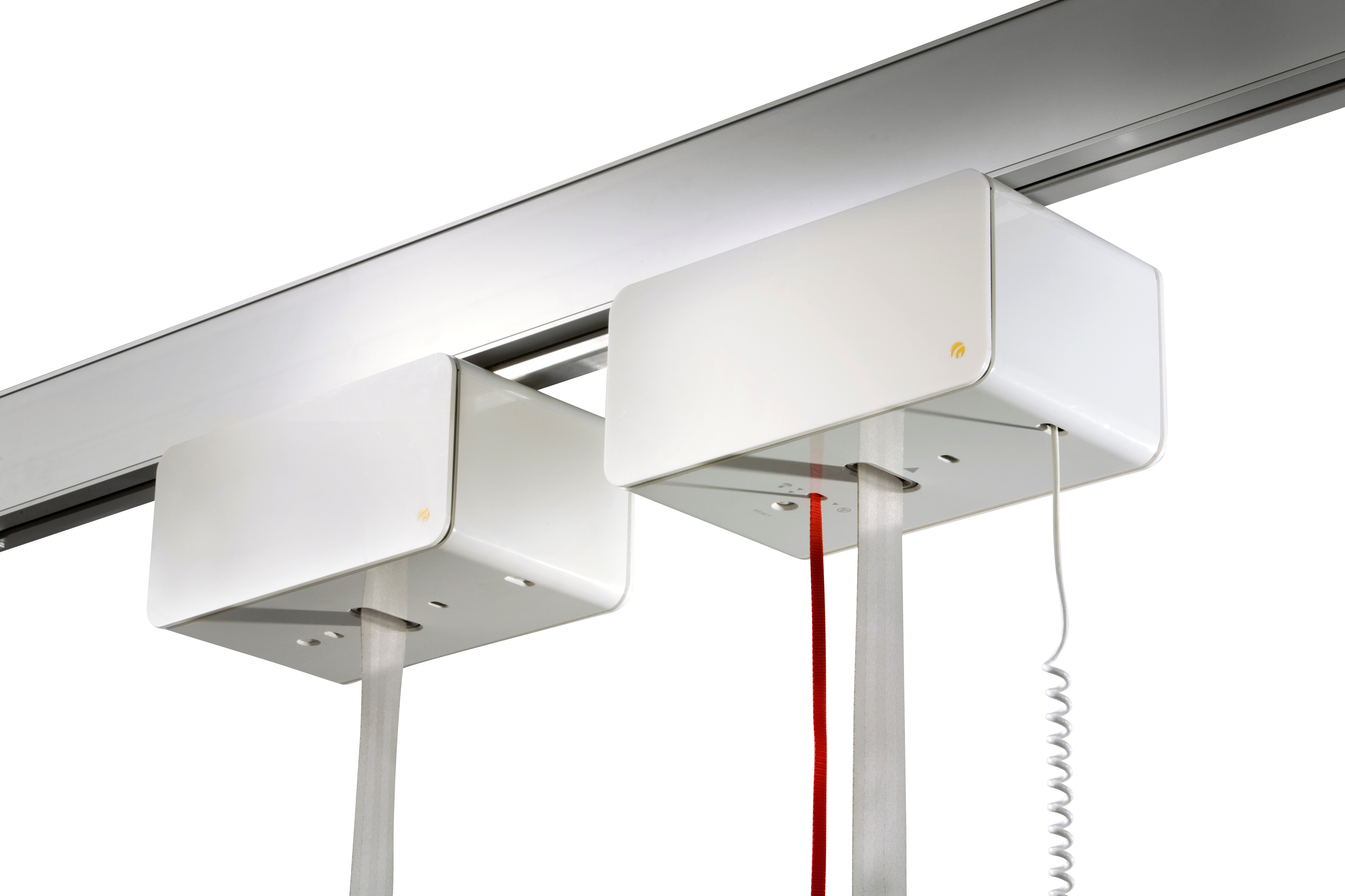 Heavy-duty ceiling hoist - lifting capacity up to 500 kg - for lifting and moving bariatric users