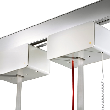 Heavy-duty ceiling lift - lifting capacity up to 500 kg - for lifting and moving bariatric users