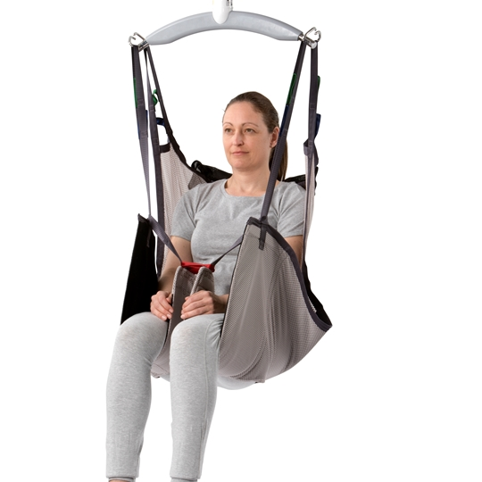 Basic Comfort High Full-body sling – for general transfers with additional support to the thigh area