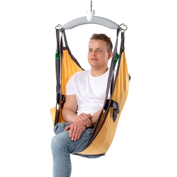 Custom Amputee is designed for lifting and moving people who have had one or both legs amputated above the knee, and for lifting people who have had both legs completely removed.