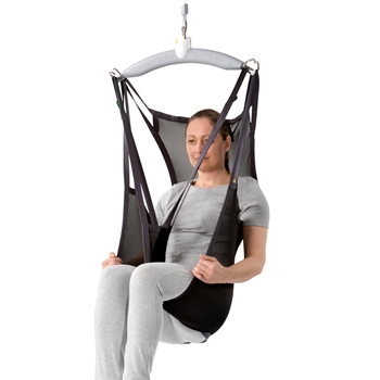 Basic Shell is a full-body sling designed for lifting and moving people who have diminished or no control of their head and upper body
