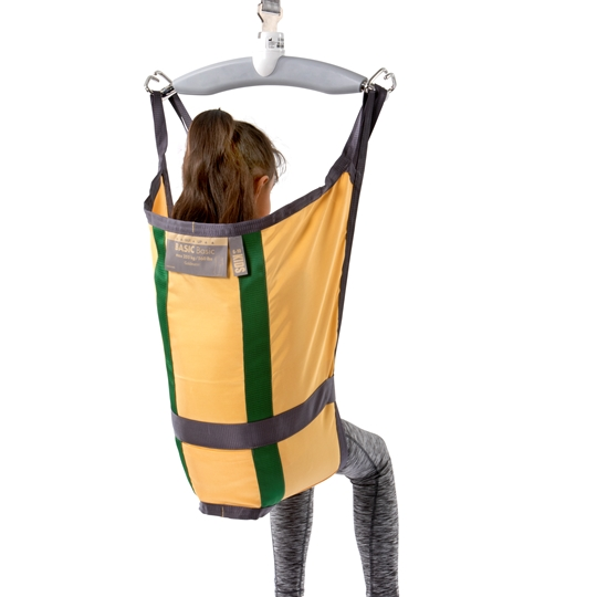 Basic Basic Kid - This paediatric sling is ideal for lifting, moving and positioning children who can control their head but have reduced control of their upper body.