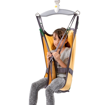 Basic Basic High Kid - This paediatric sling is ideal for lifting, moving and positioning children who can control their head but have reduced control of their upper body.