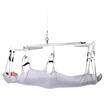 Disposable Horizontal Lifting sling – for lifting and positioning users in a supine position