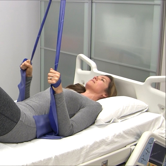 Rehabilitation exercise - Positioning lock exercises