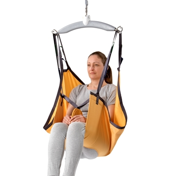 Basic Hammock is designed for lifting and moving people with diminished motor function as it supports the entire body, not including the head, and provides extra support around the hips and thighs.