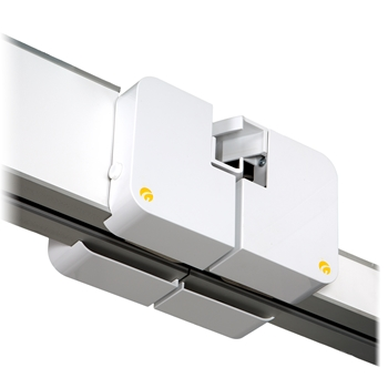 Combi-lock is used to link two rail systems