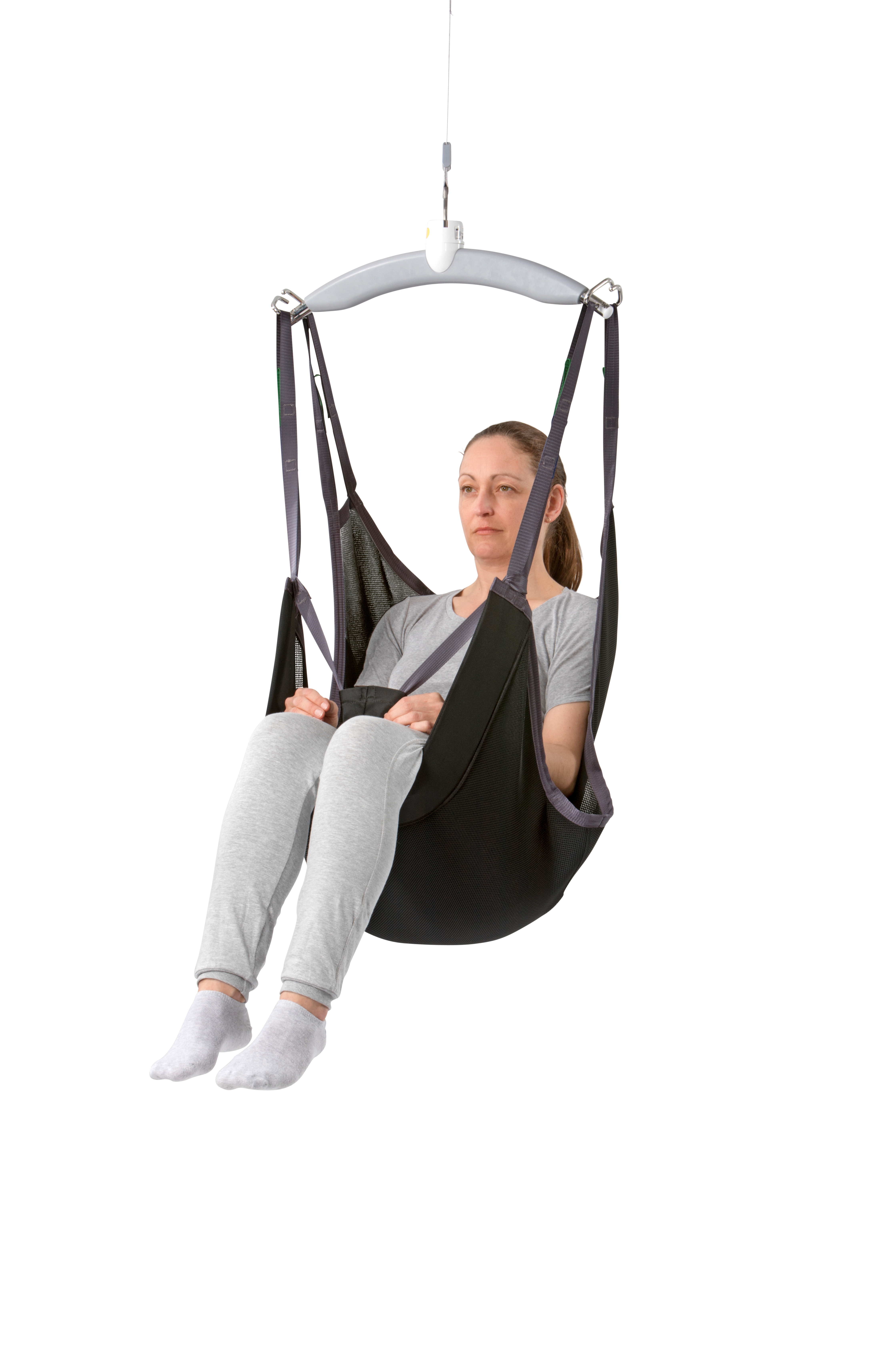 Comfort Model Sling For Users Who Need To Remain Sitting