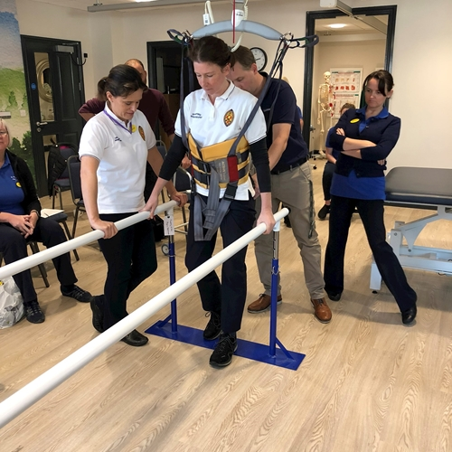 In a continued effort to support our distributors head of Guldmann Consulting, PT, Anders Haugaard, came to the UK to demonstrate the Guldmann approach focusing on Transfer, Treatment and Training, to Physiotherapists at a retirement village.