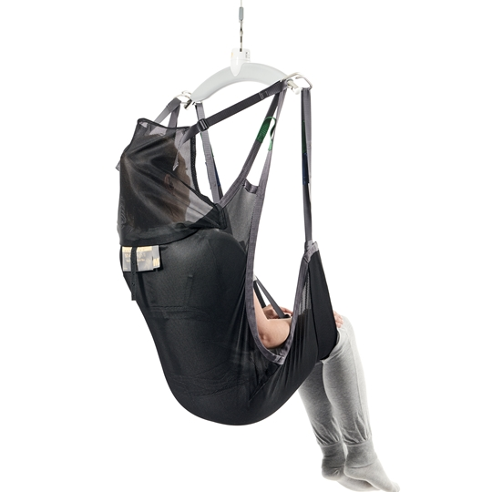 Sit On II - Moving and handling users who need to remain sitting on the sling