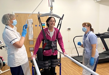 State-of-the-art rehabilitation equipment is changing the way physiotherapists at Nightingale House rehabilitates their patients.